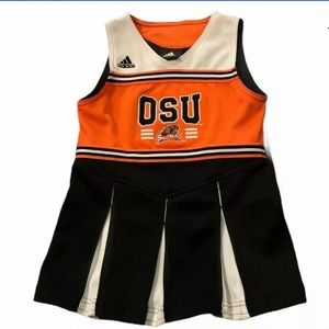 🍒3/$25 Adidas OSU Cheerleader Outfit Size Youth M